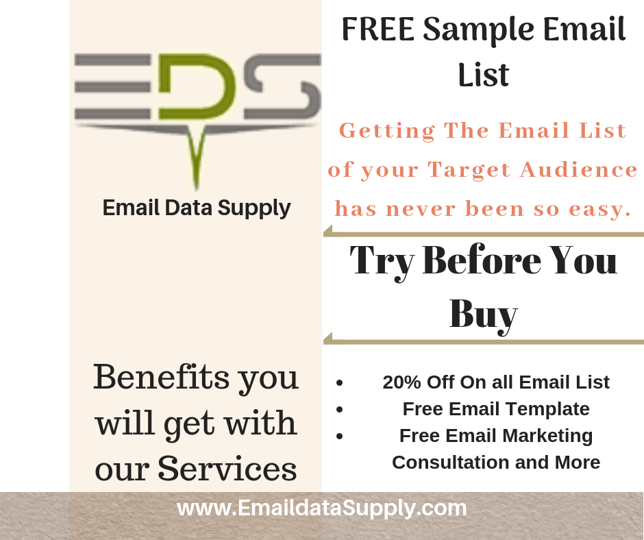 Get the Email List of your Target Audience has never been