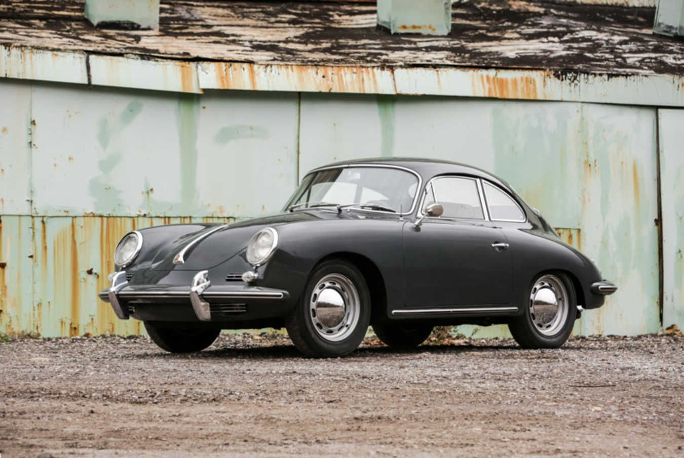 Car Porn: 1963 Porsche 356B Coupe. Classic and cool.