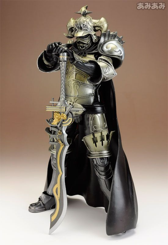 Pvc Painted Action Figure Dissidia Final Fantasy Play Arts Kai Gabranth