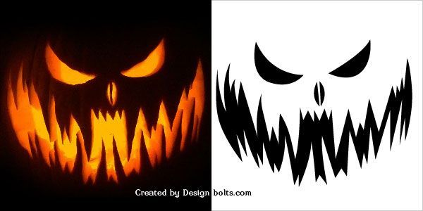 10 Free Printable Scary Pumpkin Pumpkin Drawing Scary Pumpkin Faces Scary Pumpkin Carving