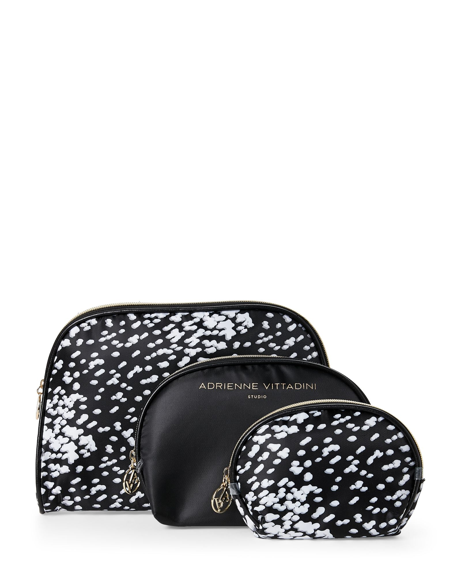 973b69f11d70 3-Piece Printed Dome Cosmetic Bag Set | *Apparel & Accessories ...