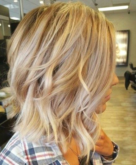 22 Cute Layered Hairstyles For Medium Hair - Vivie
