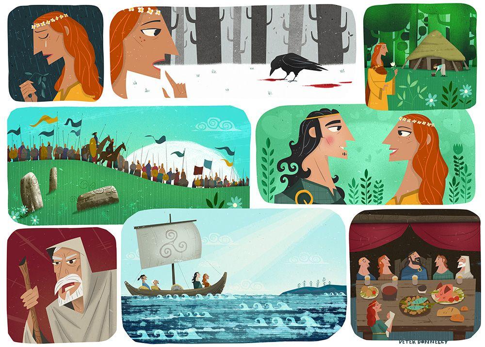 12+ Celtic mythology fiction books info