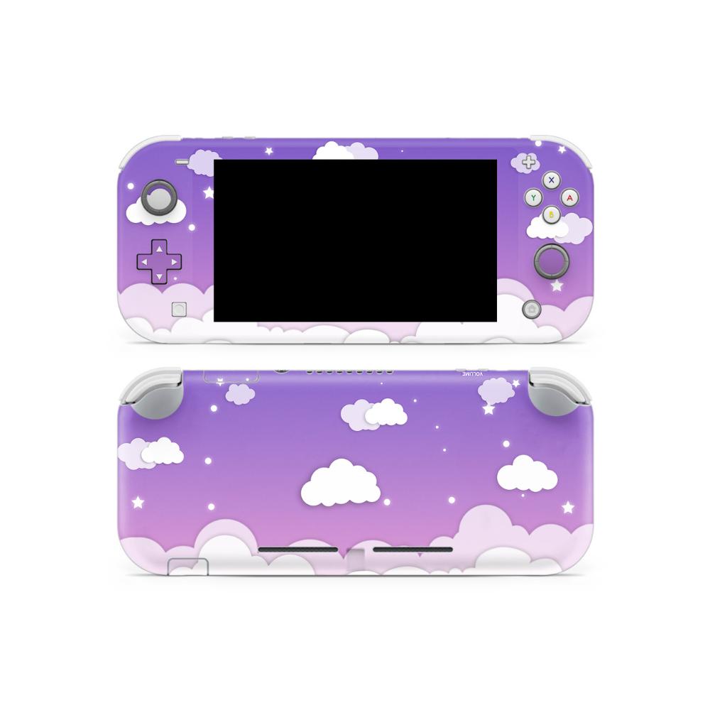 Cloudy Night Sky V2 Switch Lite Skin Nintendo Switch Case