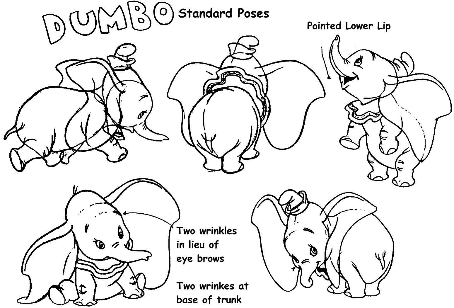 Dumbo C Walt Disney Animation Studios Blog Website Www Disneyanimation Com Online Store Www Disneyst Dessins Disney Livre Coloriage Coloriage