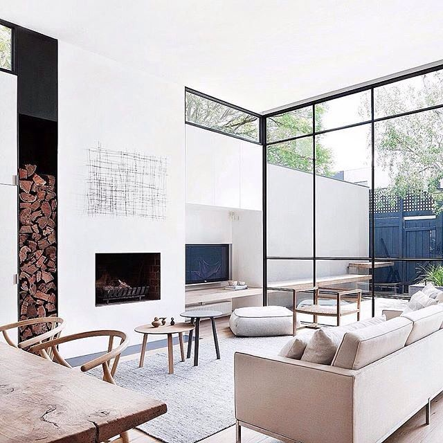 Inspohome via lux fashion and more modern interior home design industrial house victorian also interiors casas espacio rh ar pinterest