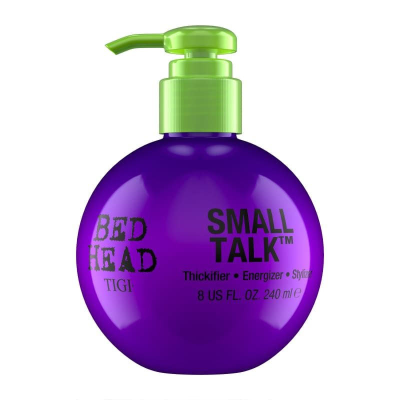 Bed Head By Tigi Small Talk Hair Volume Styling Cream For Fine Hair 240ml In 2020 Bed Head Small Talk Bed Head Small Talk