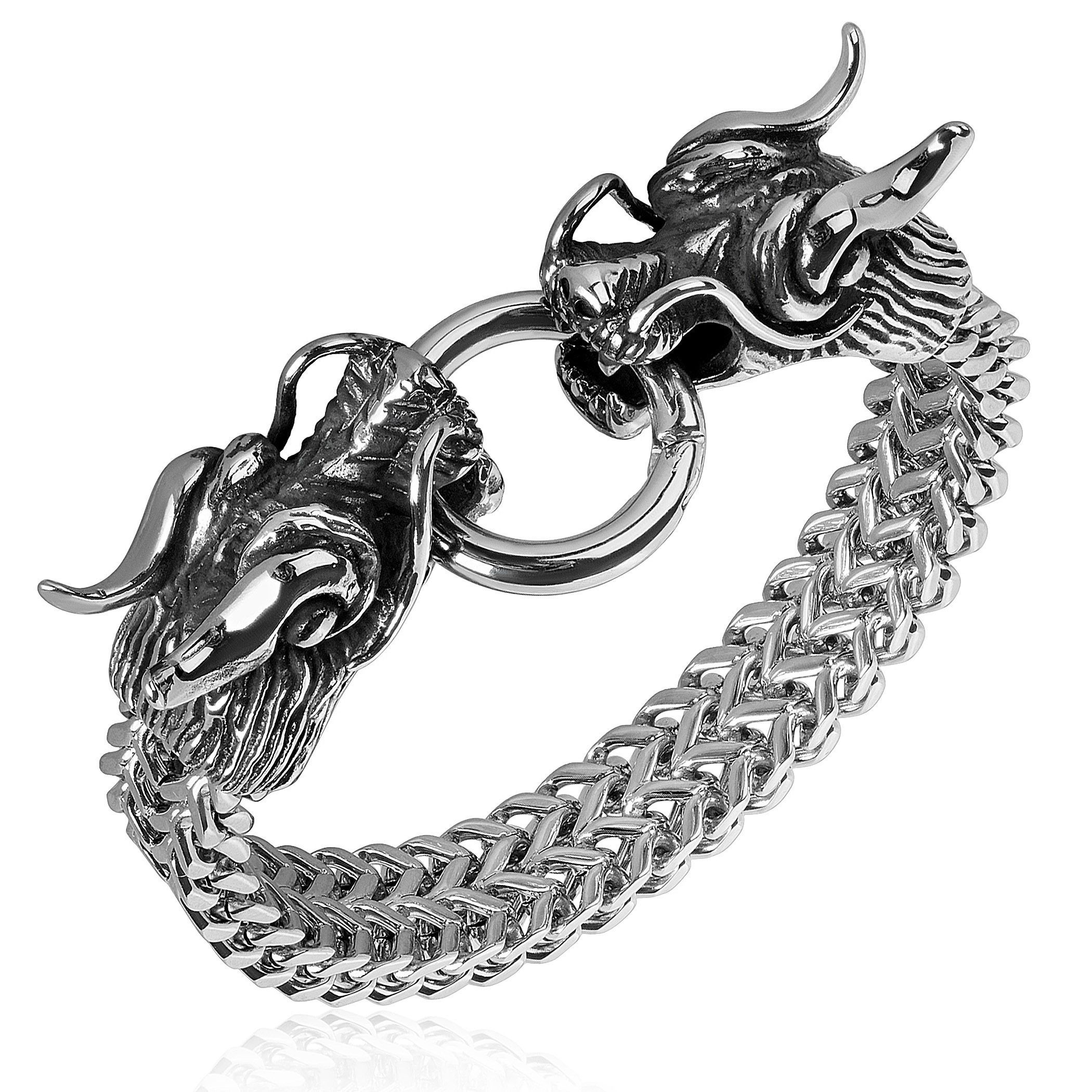 dragon sterling from bracelet chain novica thailand p silver large chains links dazzling link