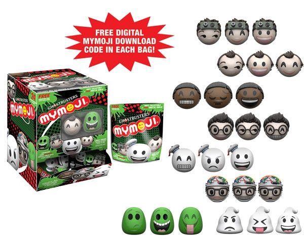 Funko Mymoji Ghostbusters Blind Bag 1 Pack Mini Figure Display Ghostbusters Vinyl Figures