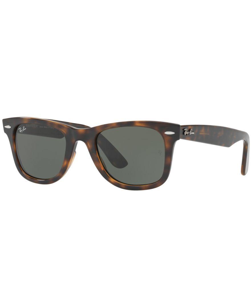 1bef2aeb1d Mira quién está viendo estas nuevas Ray-Ban Wayfarer Ease. Ray-Ban Modified  Wayfarer Sunglasses