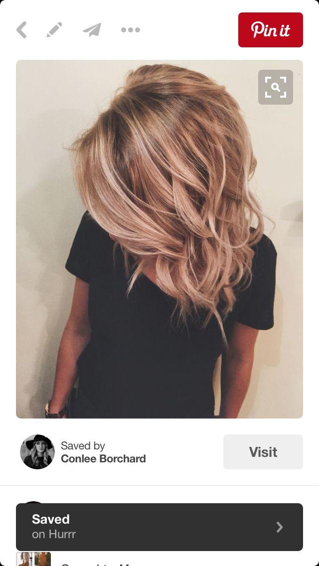 Balayage Hair Make Up And Beauty Secrets Pinterest Balayage