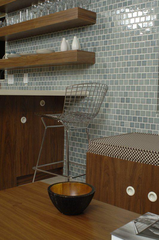 Kitchen: Heath Grey subway squares                                                                                                                                                      More
