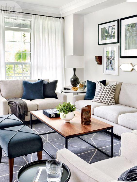 30 Chic Home Design Ideas - European interiors Living Room
