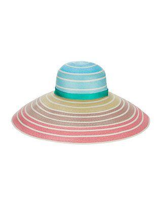 Missoni Rainbow Ombré Wide Brim Hat  d86bc30c32f9