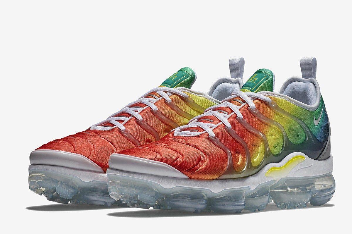 Nike Air VaporMax Plus in Rainbow of Colors