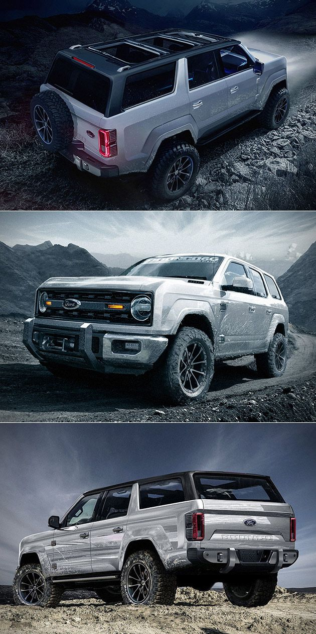 2020 Ford Bronco Ford Pinterest Ford Bronco Ford Trucks And Cars
