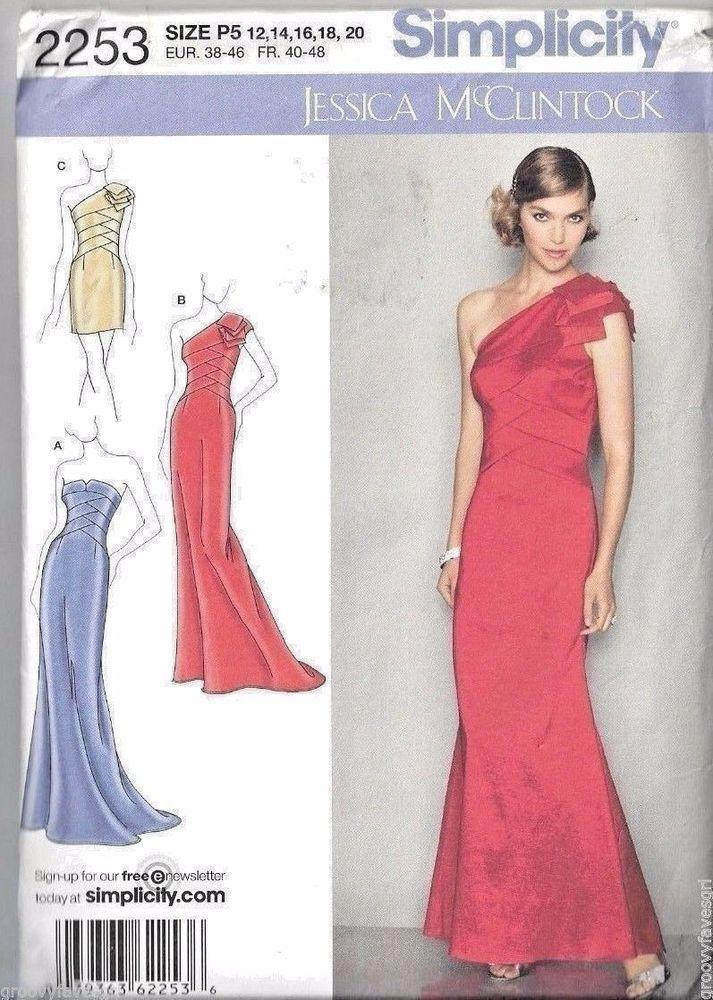 Jessica McClintock Formal Prom Dress Bridal Grad Cruise Resort ...