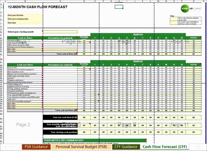 Cash Flow Forecast Cash Flow Statement Flow Chart Template Business Books Worth Reading