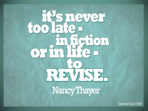 Sometimes A Little Life Revision Goes A Long Way Quote Inspire
