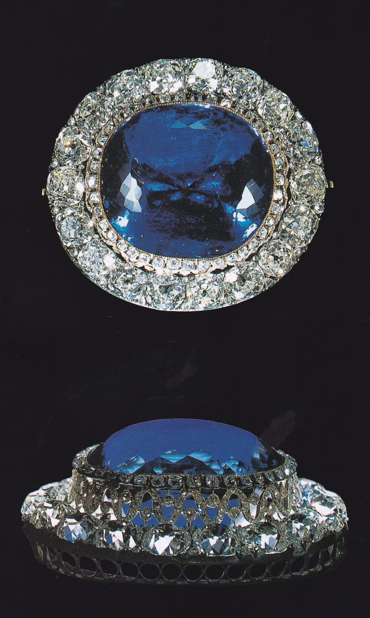 An Antique Sapphire Jewel Found In The Dowager Empress
