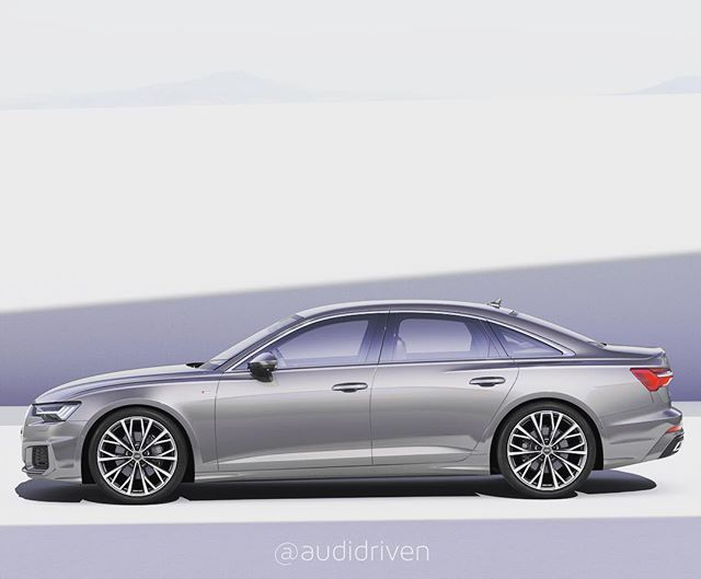 How About The Shoulder Newaudia6 Showing Its Curves 2019 Audi A6