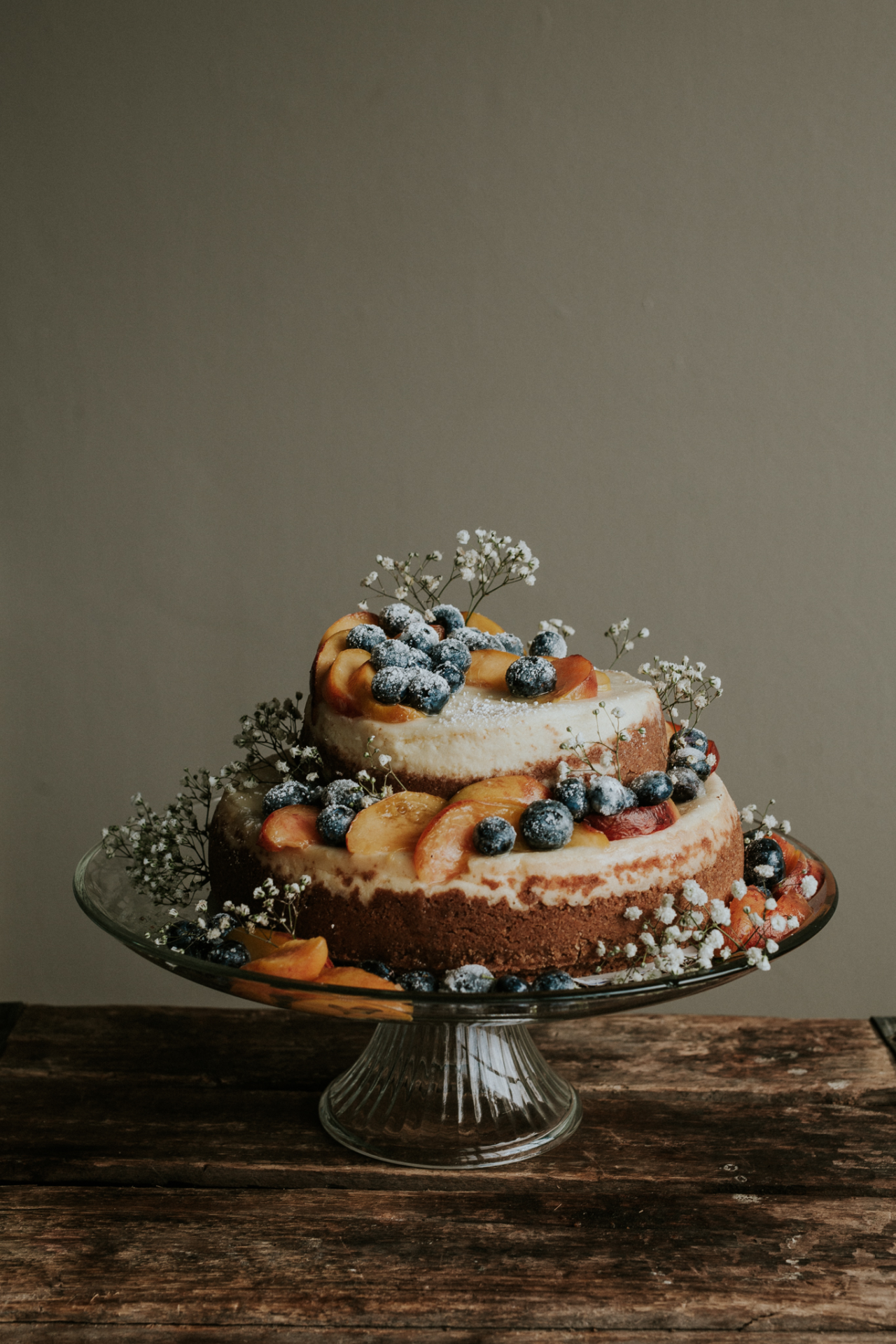 """jakfruit: """" Leta made the most beautiful cheesecake for our friends' wedding yesterday. """""""
