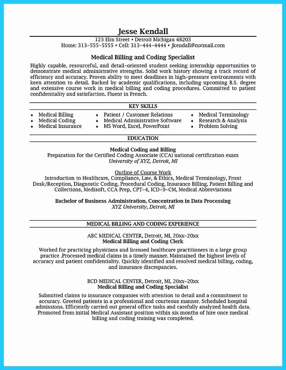 Medical Coder Resume Entry Level Elegant 30 Technical Support Specialist Resume