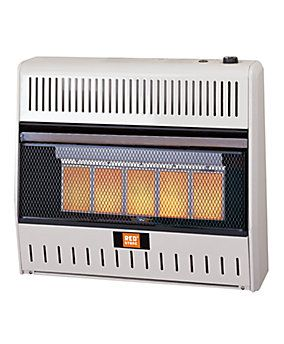 Redstone Dual Fuel Gas Infrared Heater With Thermostat 30 000 Btu 1016069 Tractor Supply Company 239 Infrared Heater Wall Mounted Heater Propane Heater