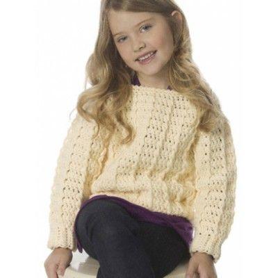 Free Intermediate Child\'s Sweater Crochet Pattern | Free Crochet ...