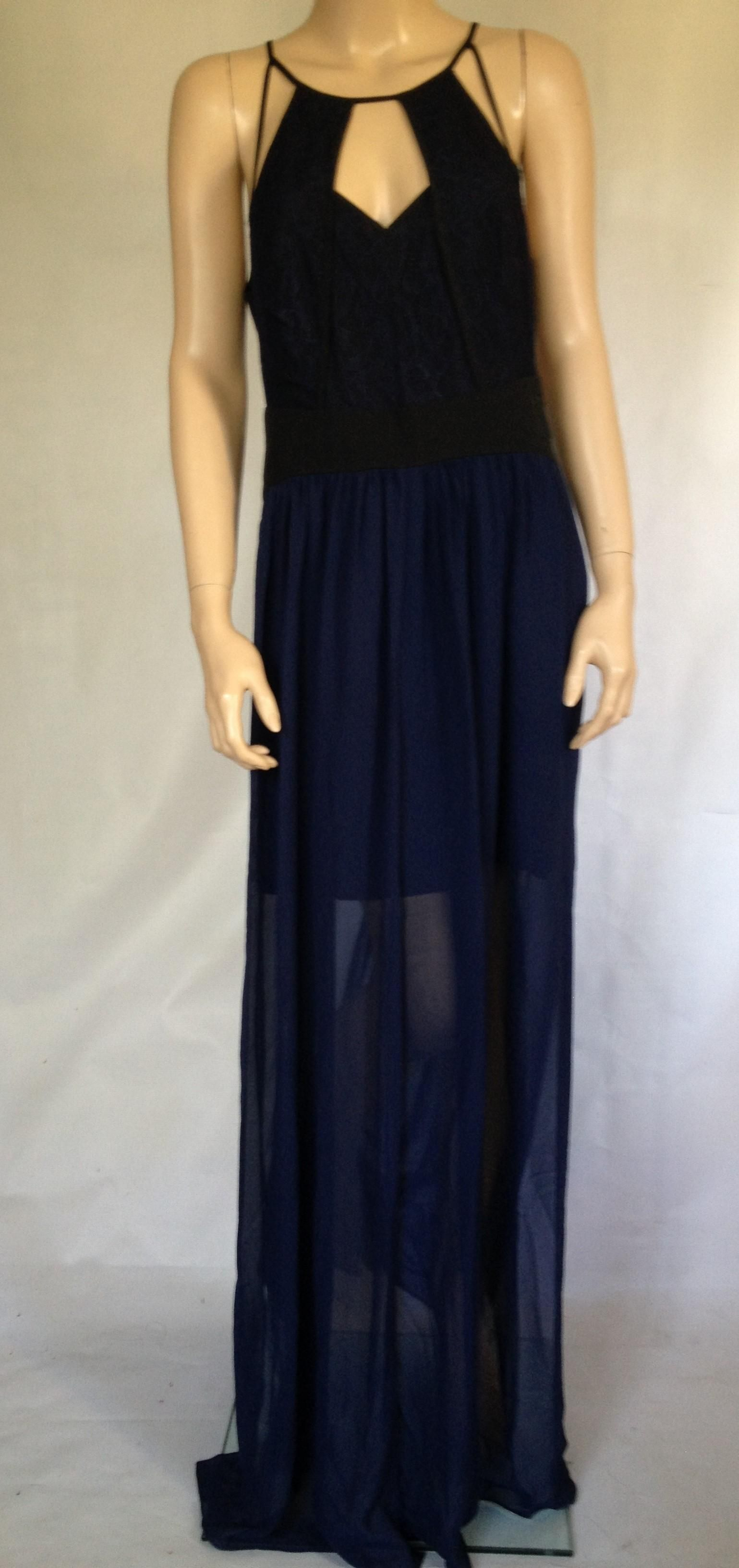 Bcbgeneration Blue Bcbg Black Ball Gown Size 0 Dress Free Shipping And Guaranteed Authenticity On