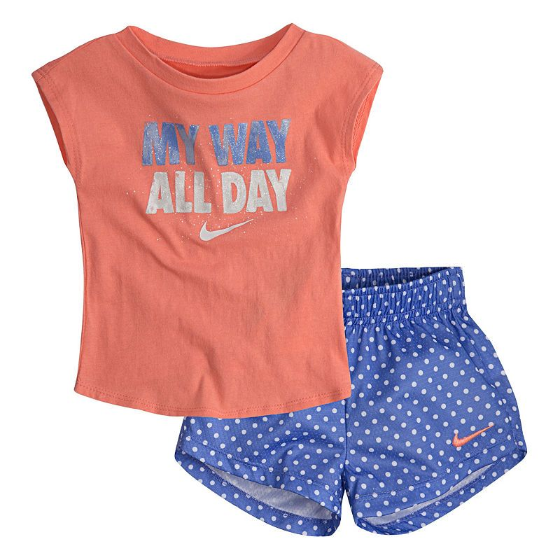 4314a410c Nike Nike Baby Su18 Sets 2-pc. Short Set Baby Girls | Products in ...
