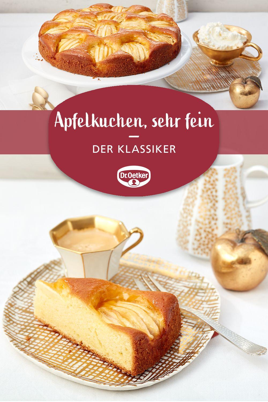 Apfelkuchen Sehr Fein Rezept Apfelkuchen Rezepte In 2019 Kuchen Apfelkuchen Sehr Fein Und Kuchen Und Torten