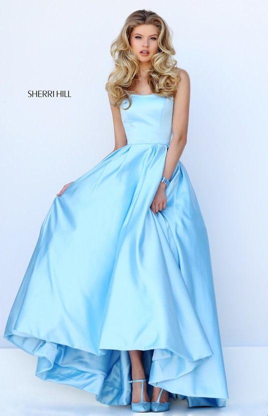 SHERRI HILL 50226. Strapless Prom DressesSherri ...