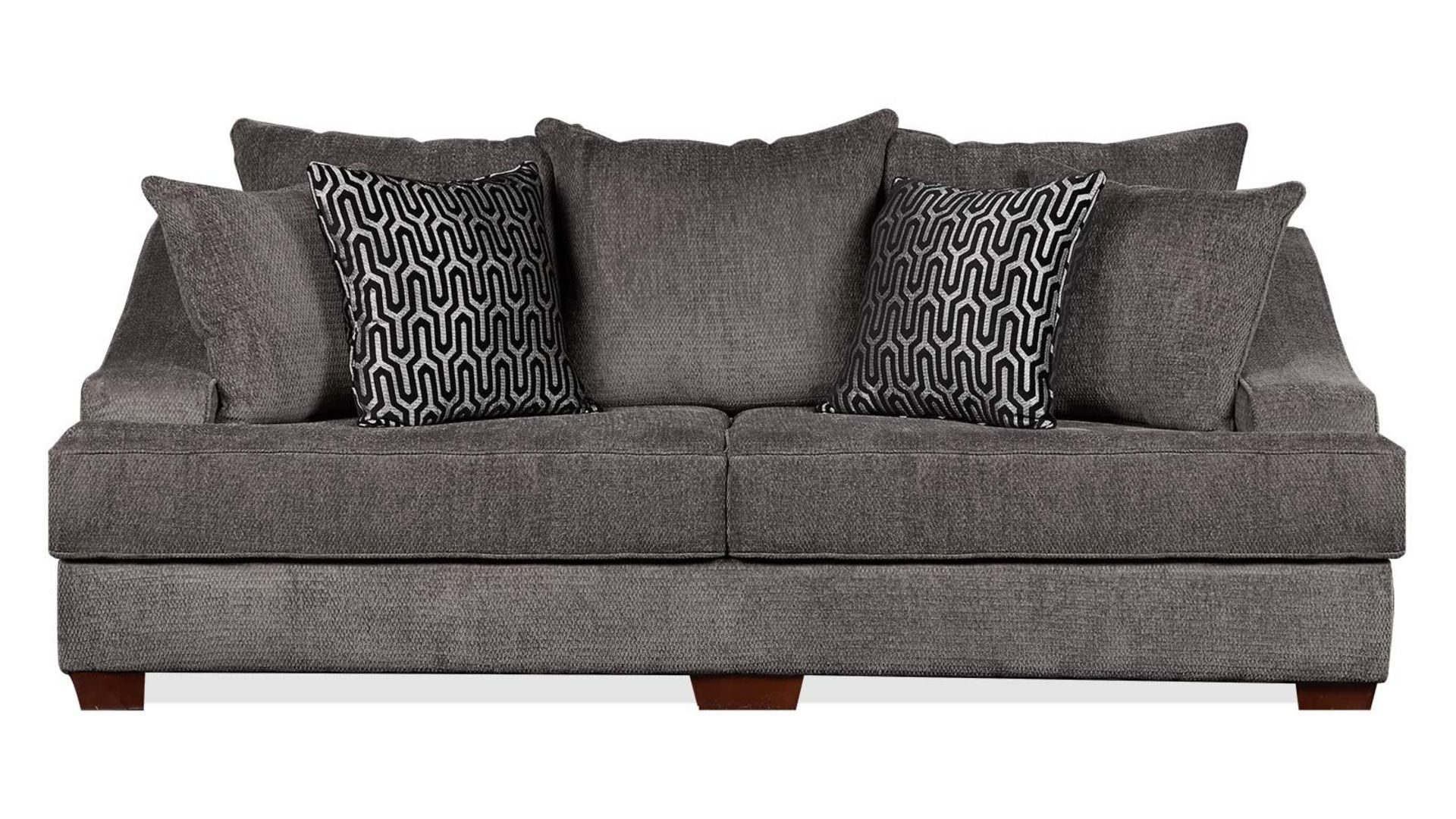 Kyle Charcoal Sofa Living Room Collections Charcoal Sofa Family Room Furniture