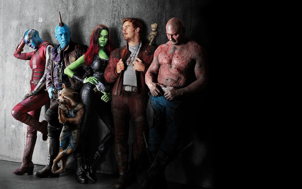 Guardians Of The Galaxy Vol 2 Cast Leaning To Wall 4k 8k