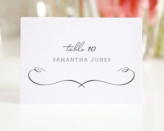 Wedding Place Cards Escort Cards or Seating by shineinvitations, $100.00