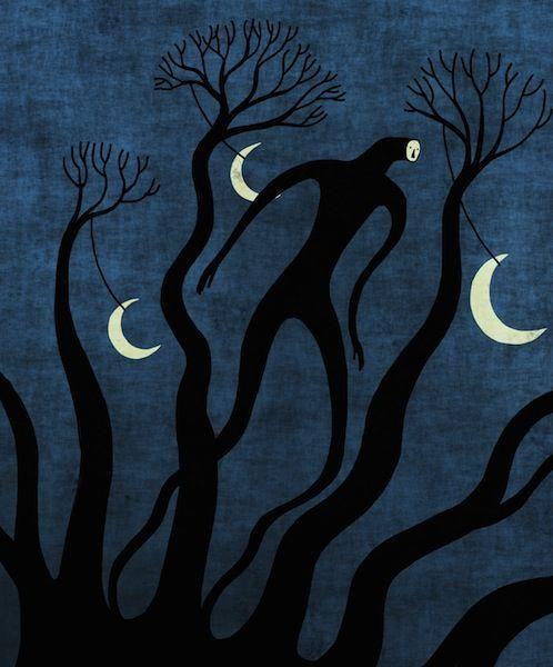Toni Demuro, 1974 ~ Surreal memory of the Trees