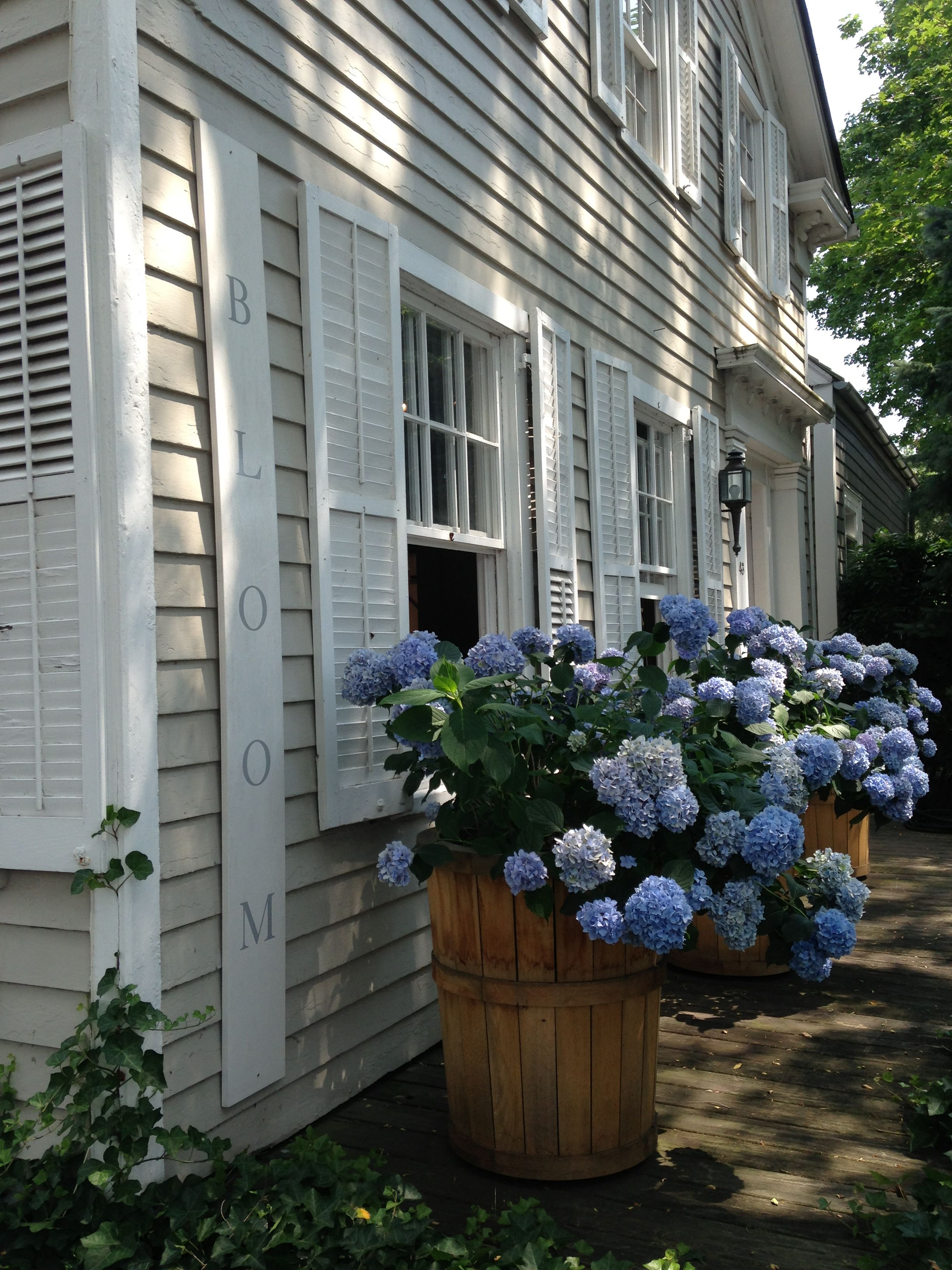 Bloom Design Store In The Hamptons Sag Harbor Summer