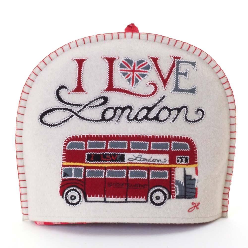 Jan Constantine - London Bus Tea Cosy, £66.50 (http://www.janconstantine.com/london-bus-tea-cosy/)