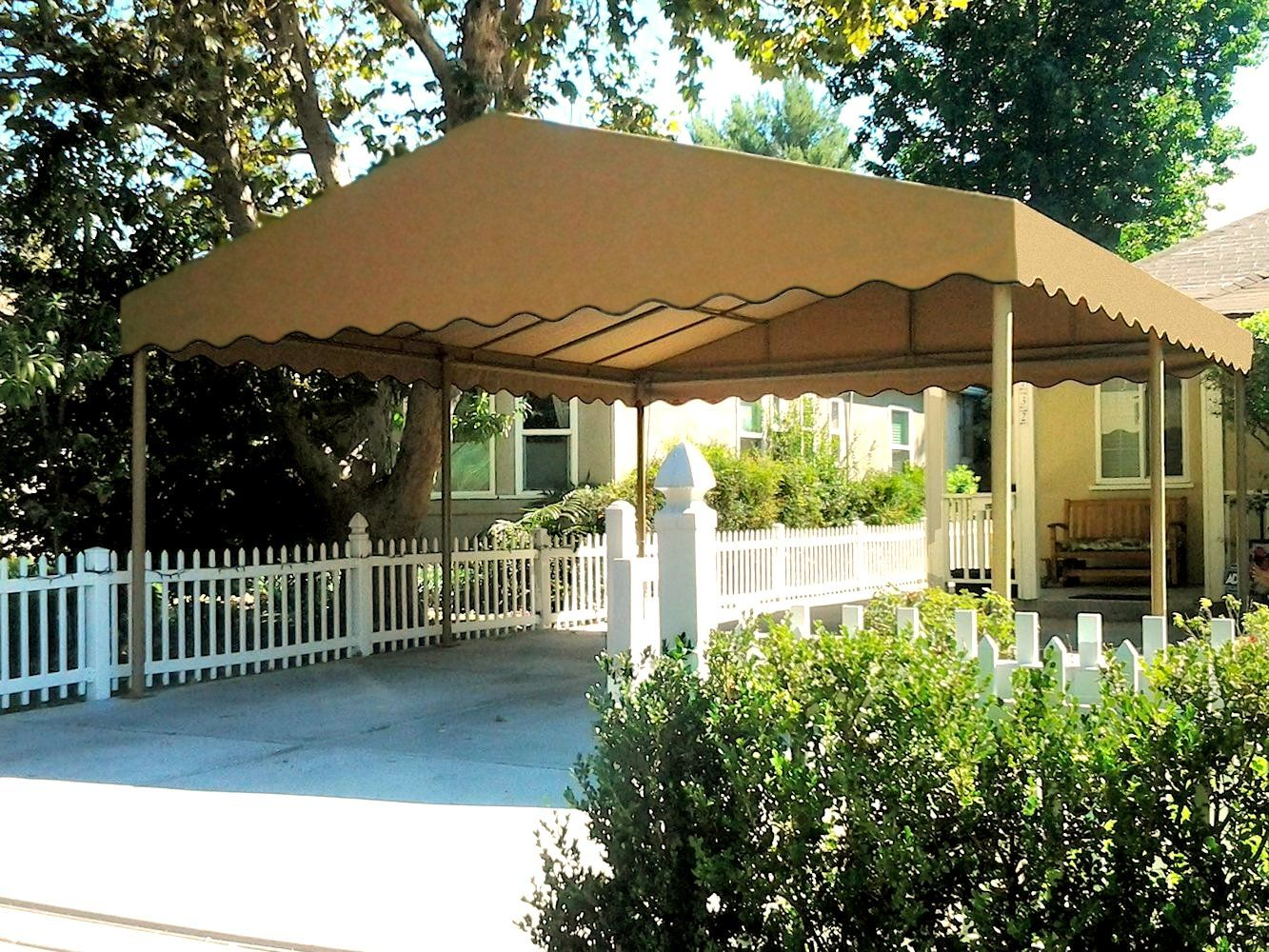 Freestanding Canvas Carport