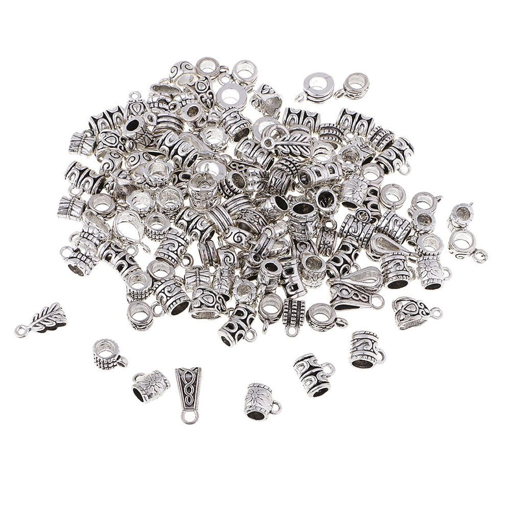 "500 Metallic Silver Assorted Number /""0-9/""Acrylic Coin Beads 4X7mm"