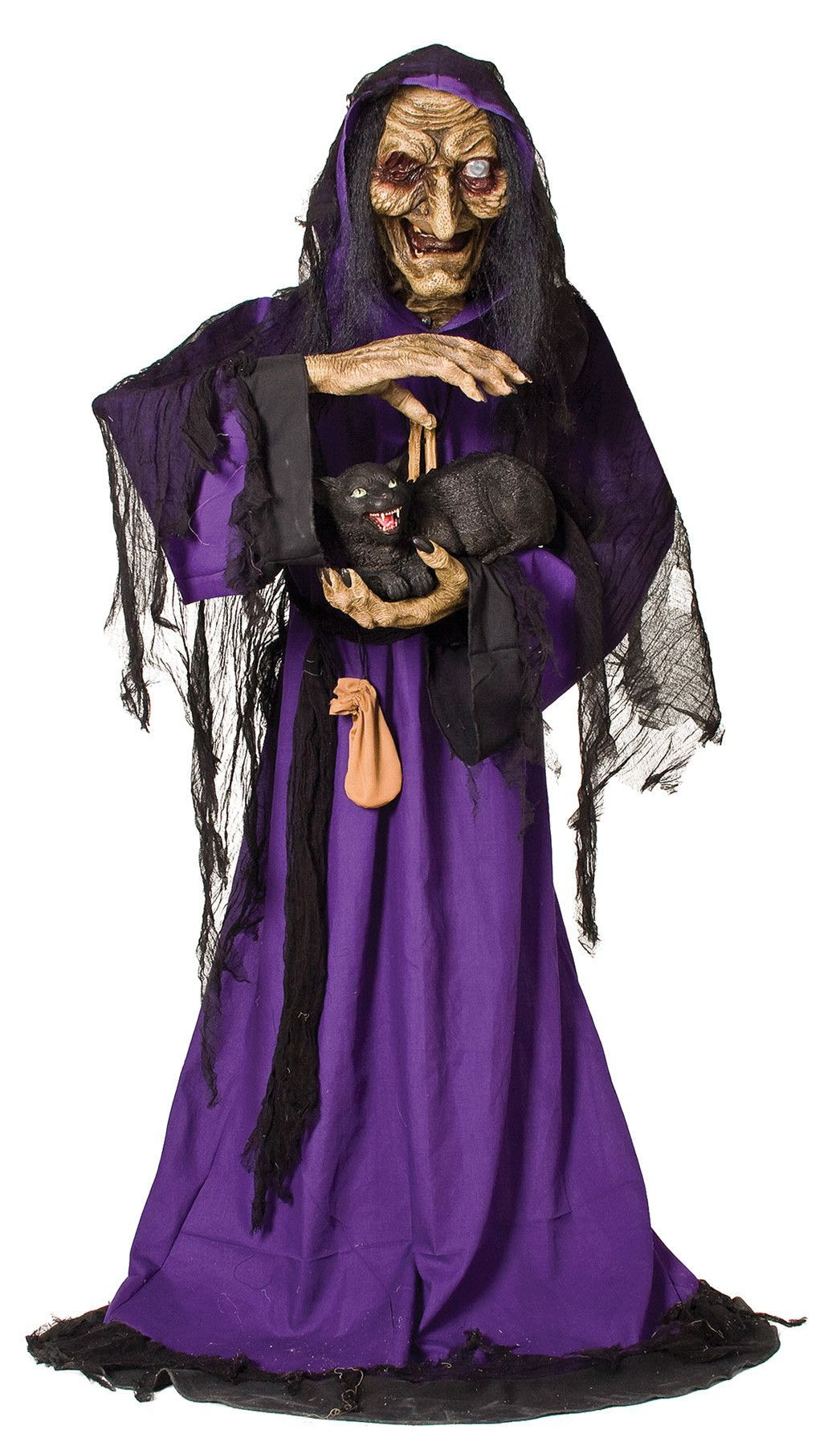 matilda animated witch | products | halloween, halloween decorations