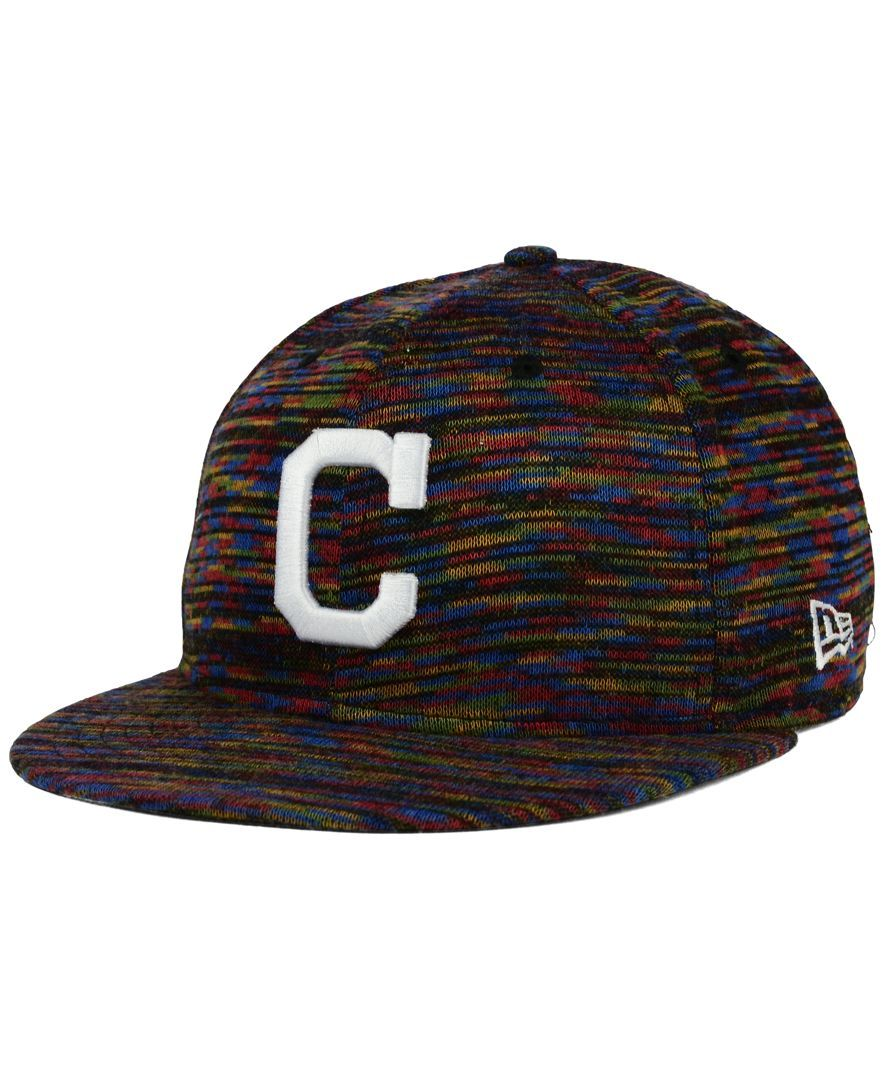 New Era Cleveland Indians Color Knit 9FIFTY Snapback Cap