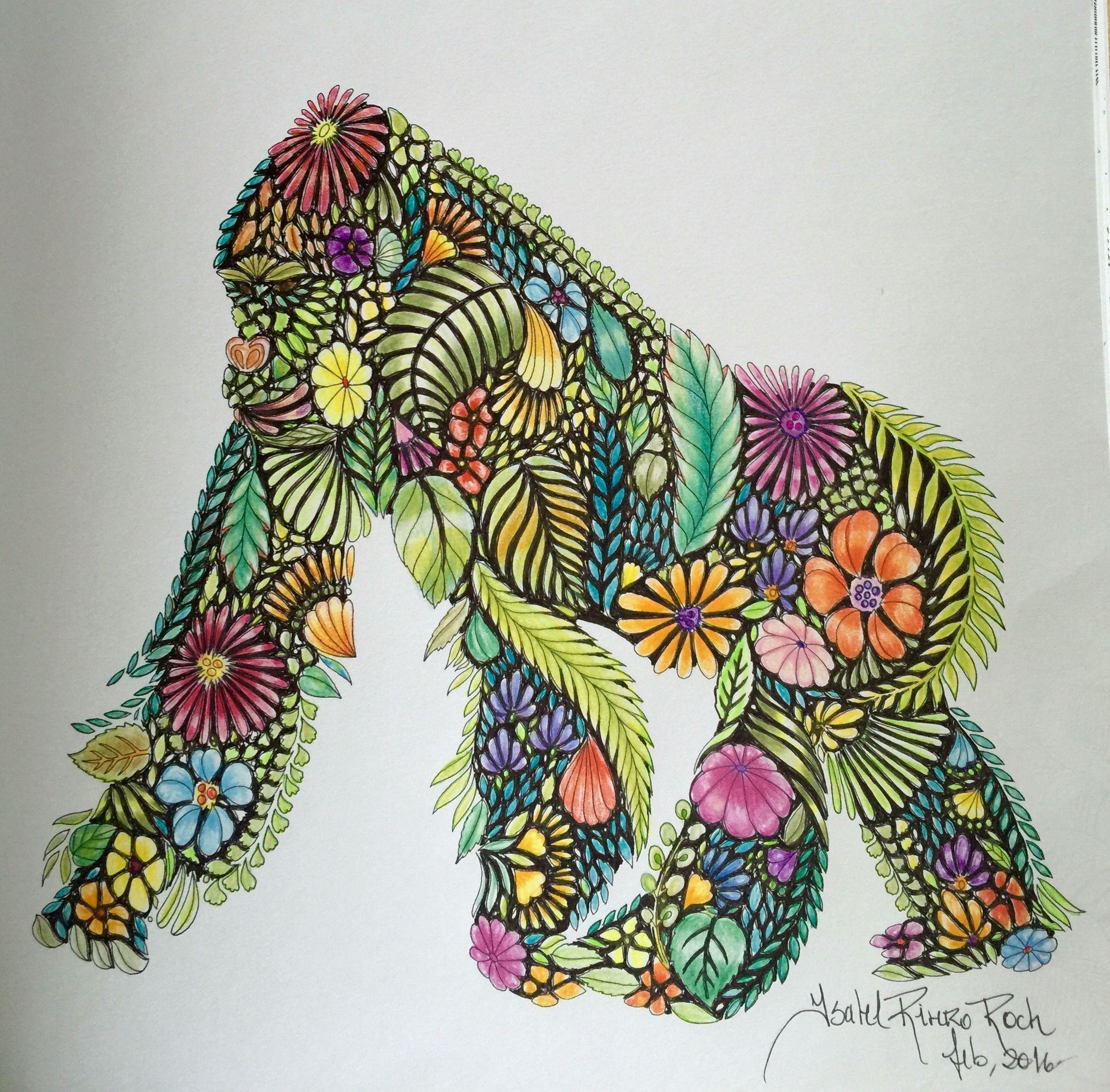 Animal Kingdom By Millie Marotta Colored Isabel Rivero Roch