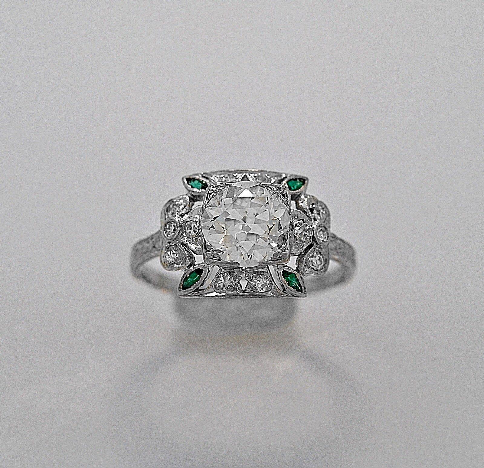 Ring · A Rare Antique Engagement