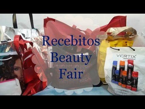Mega Recebidos da Beauty Fair 2016 (maior que já recebi) - YouTube