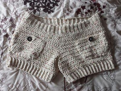 365 Crochet Comfy Cotton Shorts Free Crochet Pattern A Pants