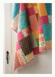 Free Modern Patchwork Quilt Pattern: Disappearing Nine Patch ... : modern patchwork quilt designs - Adamdwight.com