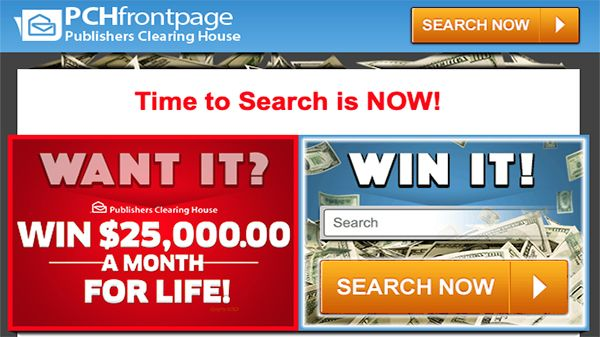 PCHFrontpage - The Homepage for Winners! If you're into PCH Search