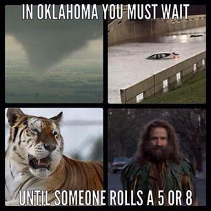 Oklahoma Weather It S Like Jumanji With Images Oklahoma